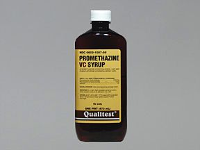 Pharmacological action of promethazine